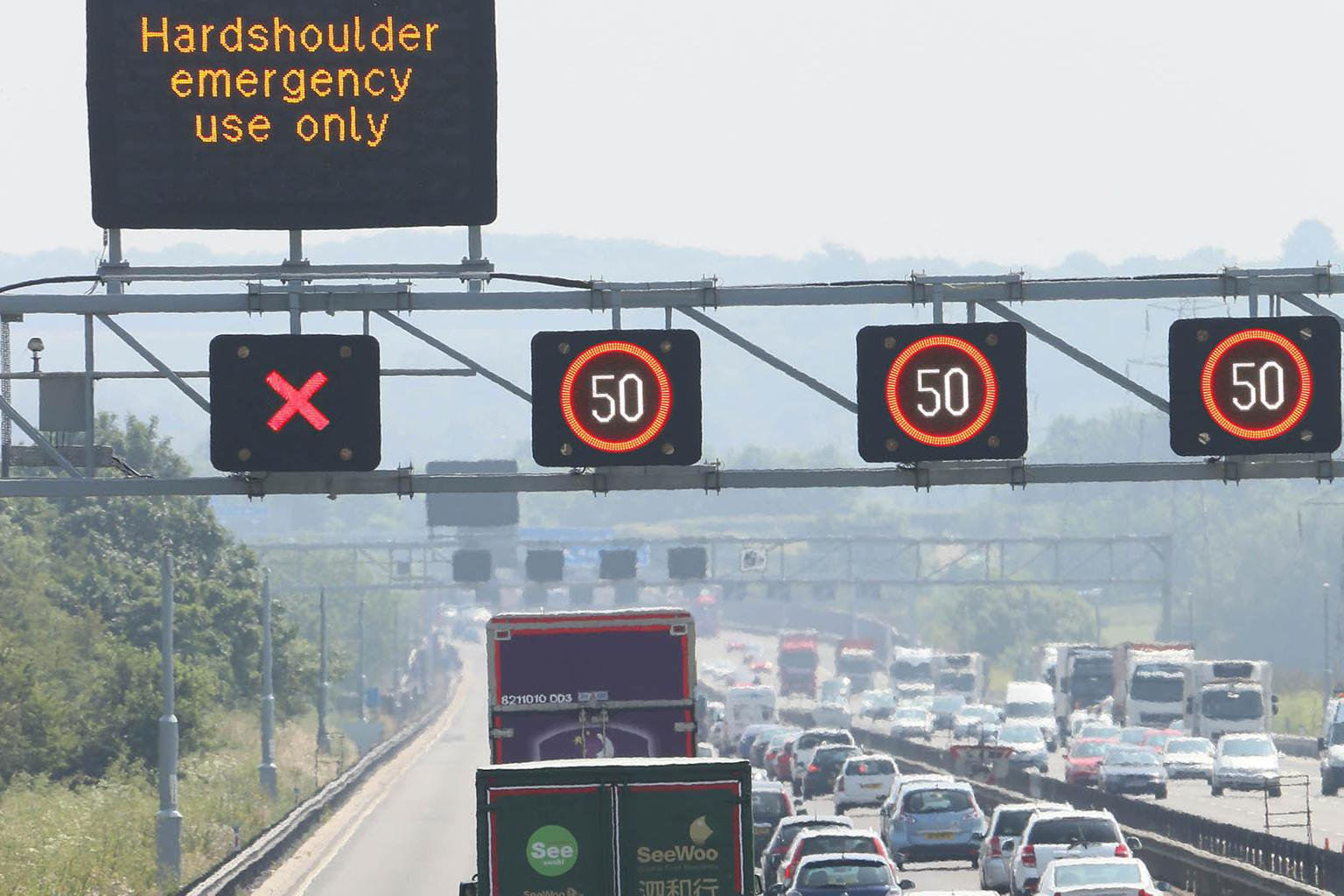 Highways England on the road