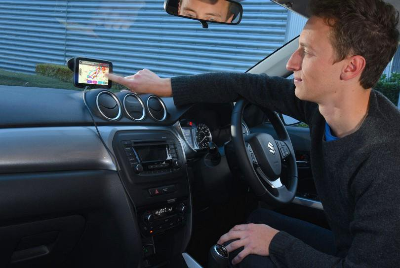 Using an unsecured sat nav