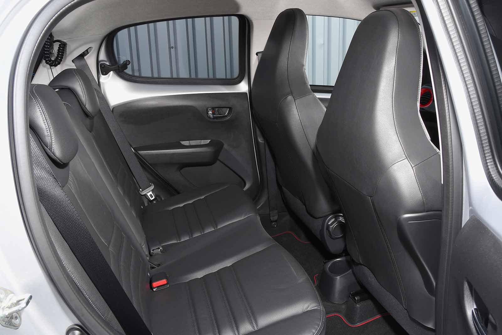 Peugeot 108 2018 RHD rear seats