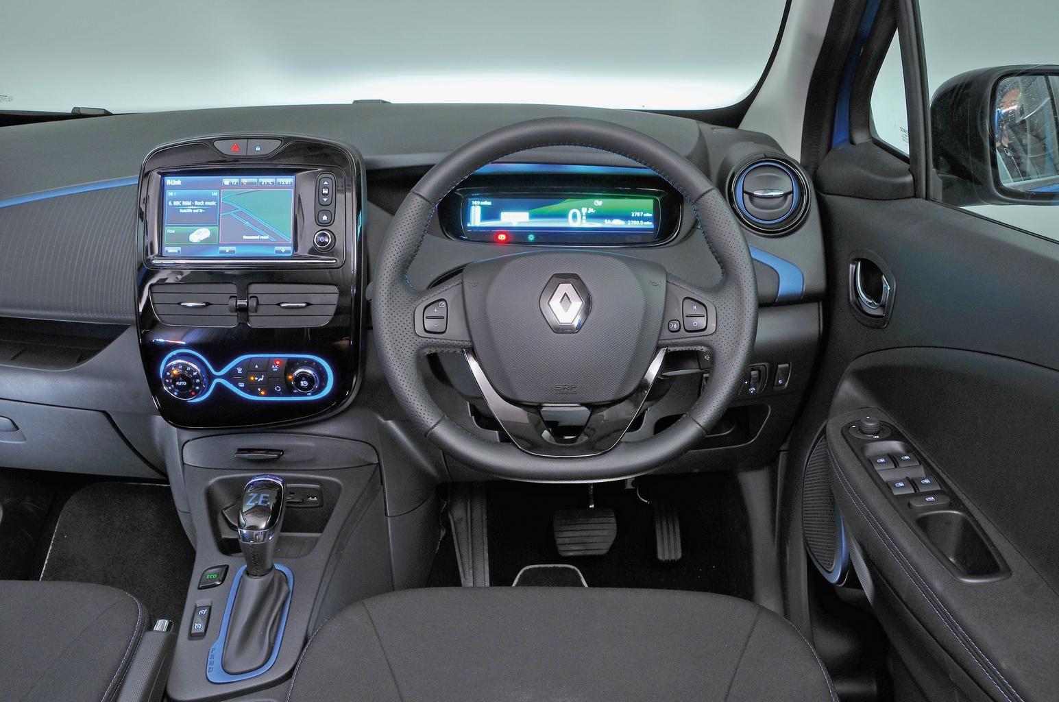 Renault Zoe Q90 Dynamique Nav - interior