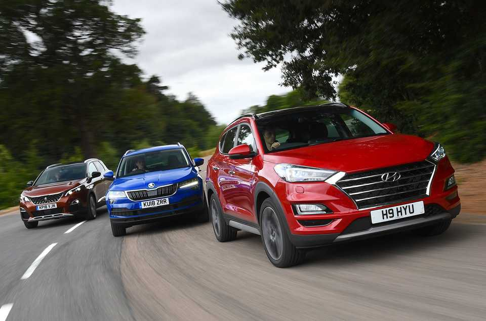 Hyundai Tucson vs Skoda Karoq vs Peugeot 3008