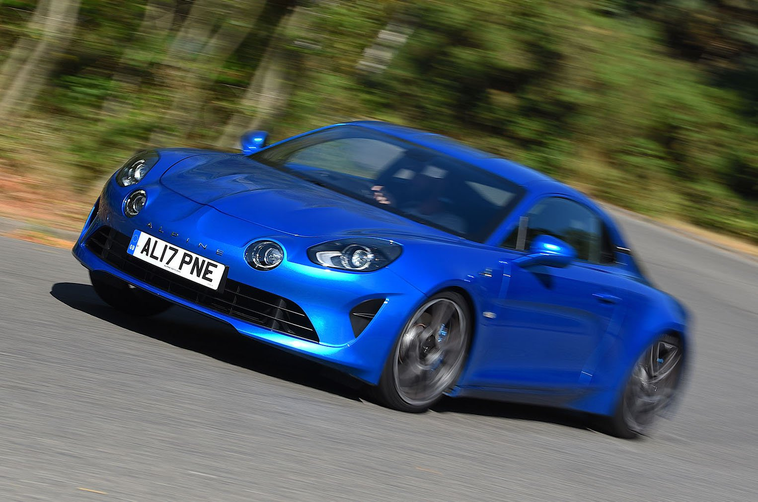 Alpine A110 action