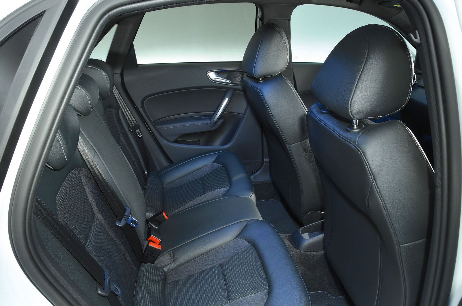 Audi A1 rear seats