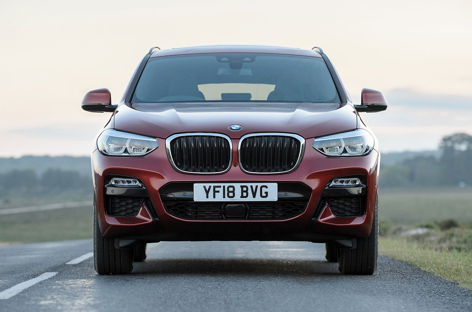 BMW X4 front