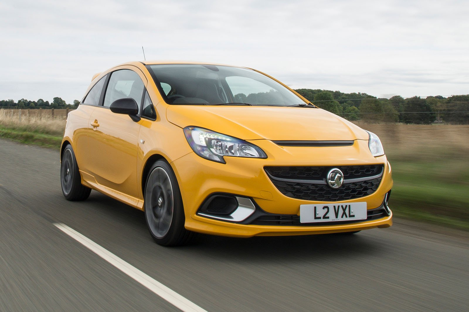 2018 Vauxhall Corsa GSi front