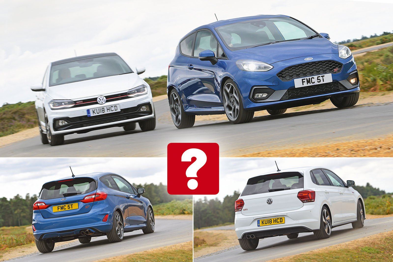 2018 Ford Fiesta ST vs Volkswagen Polo GTI