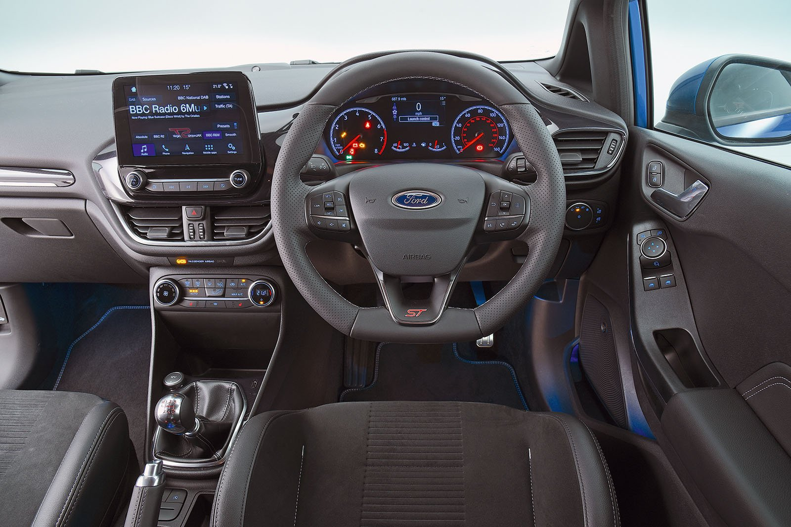 2018 Ford Fiesta ST interior