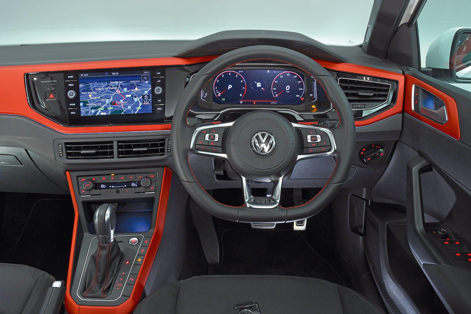 2018 Volkswagen Polo GTI interior