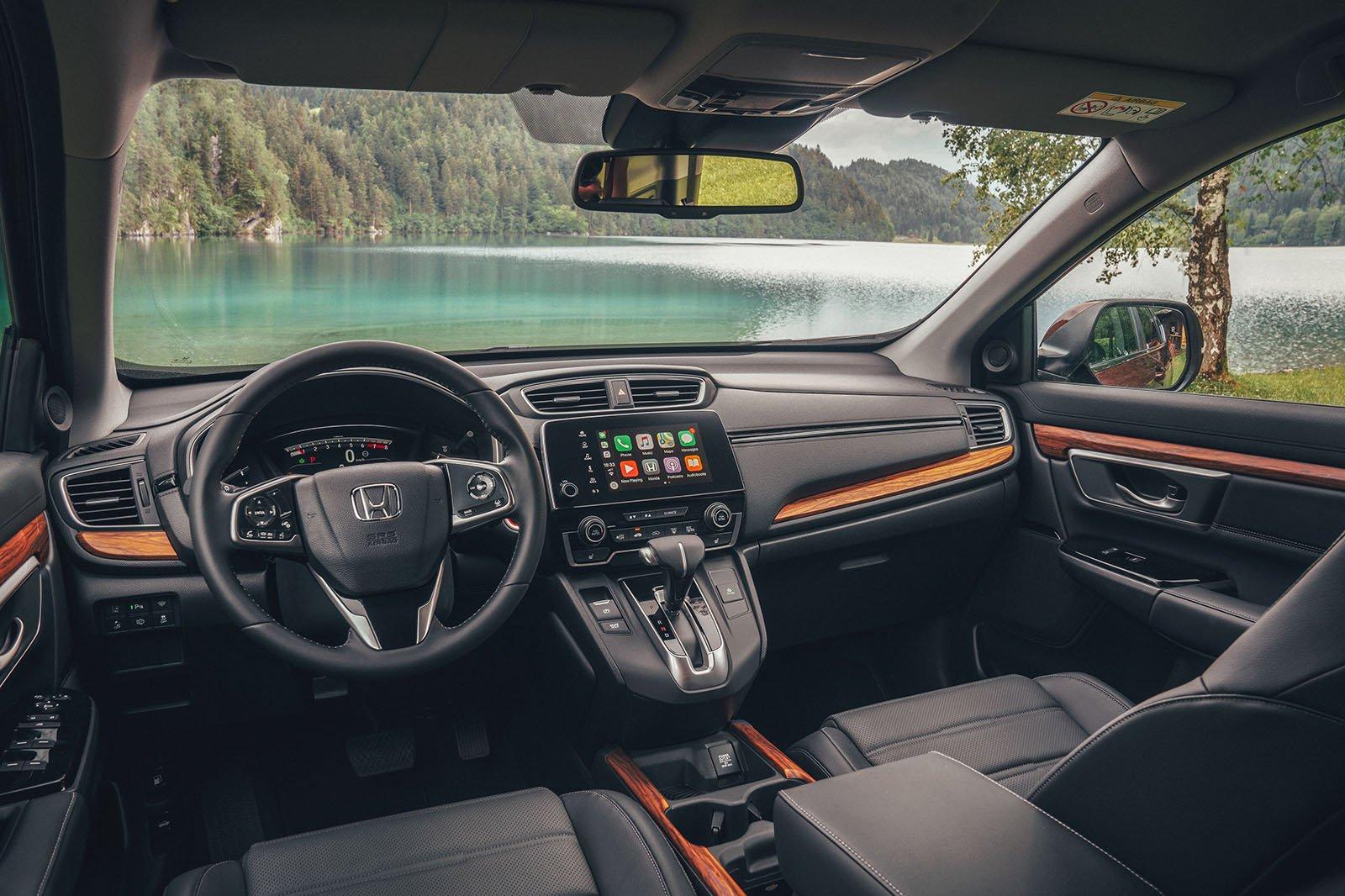 Honda CR-V dash