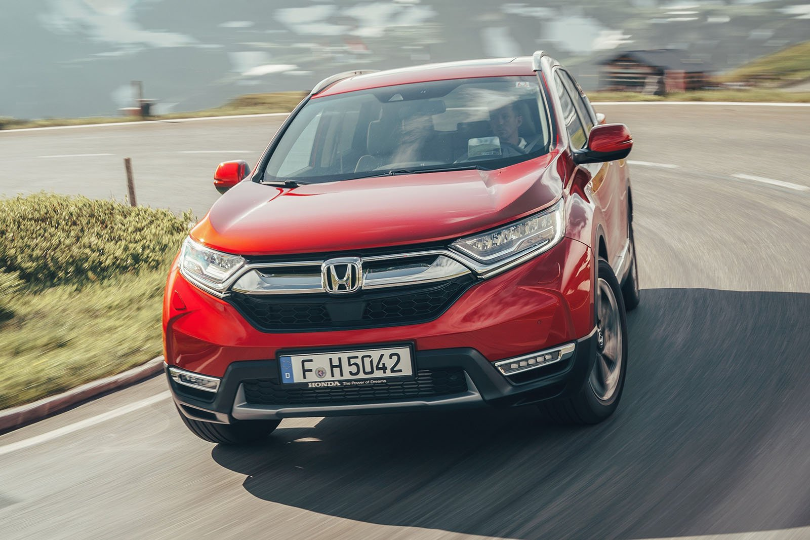 Honda CR-V front driving
