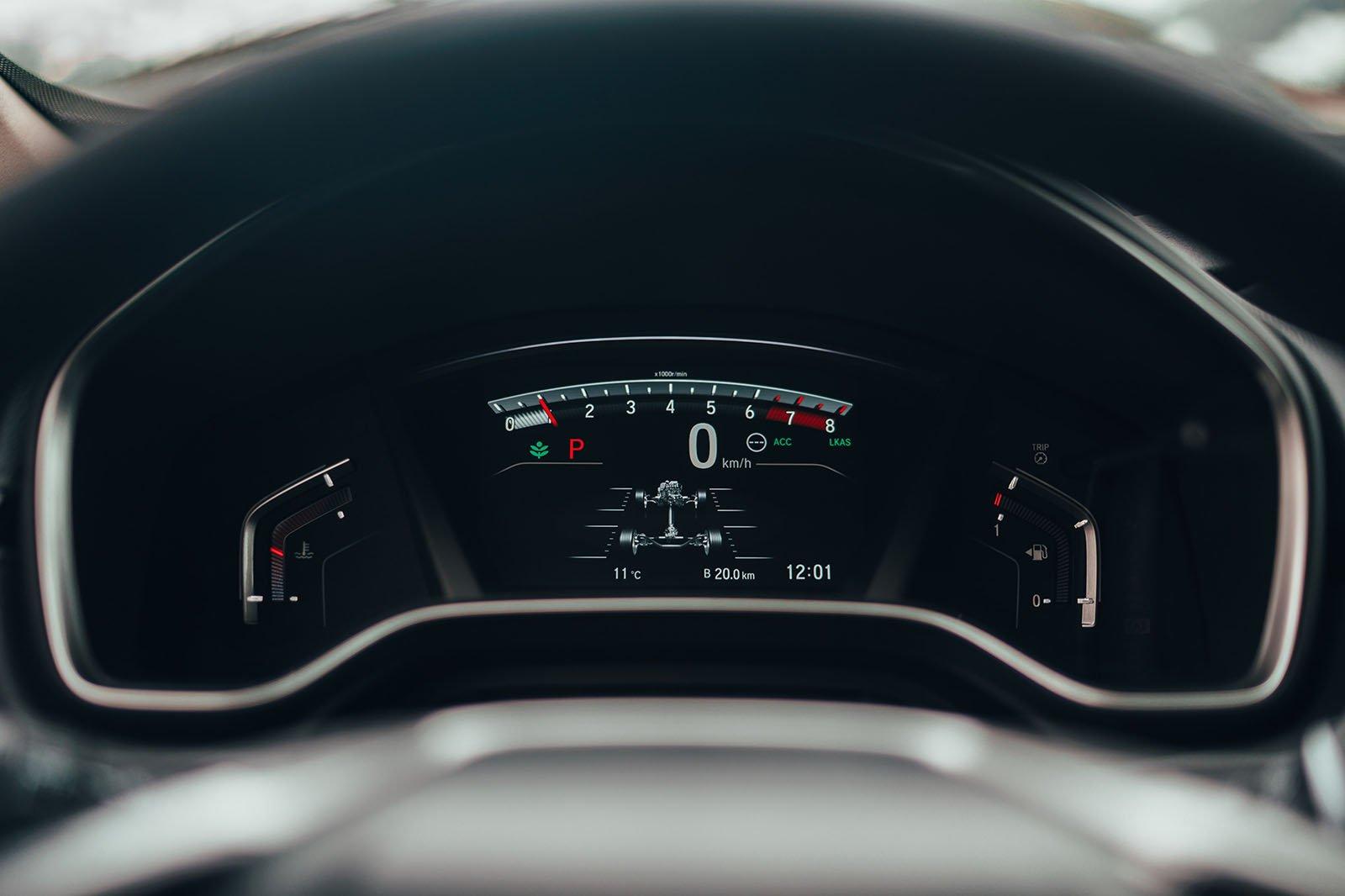 Honda CR-V digital dash