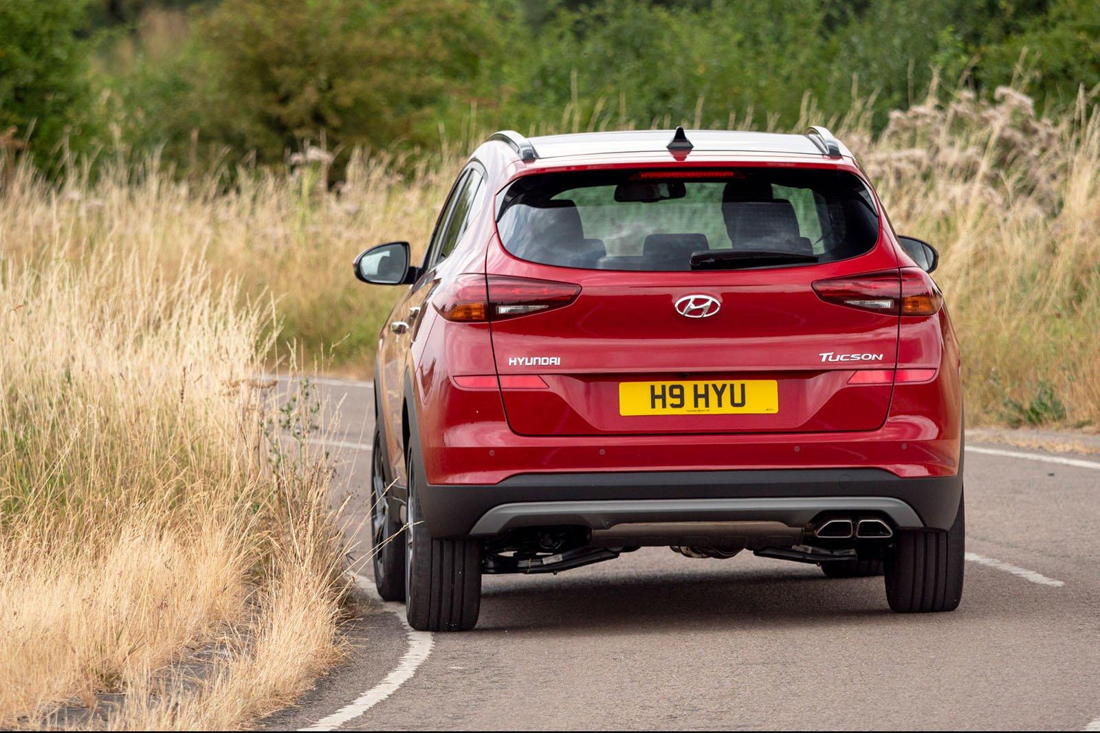 Hyundai Tucson rear