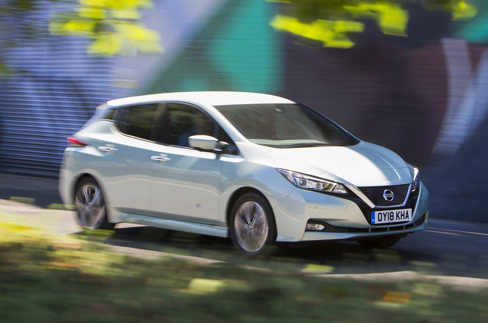 New Nissan Leaf Vs Used Bmw I3 Driving