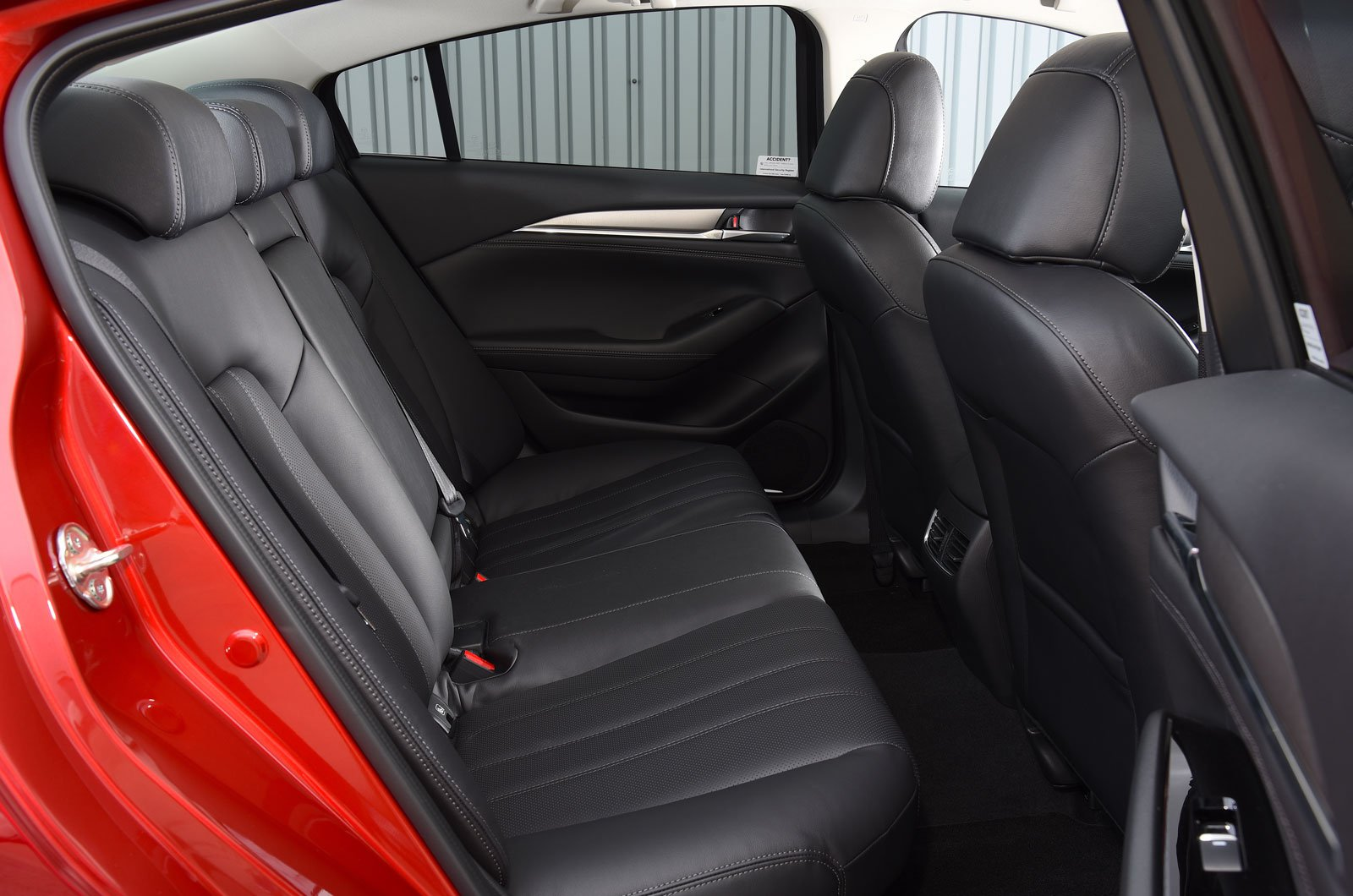 Mazda 6 back seats