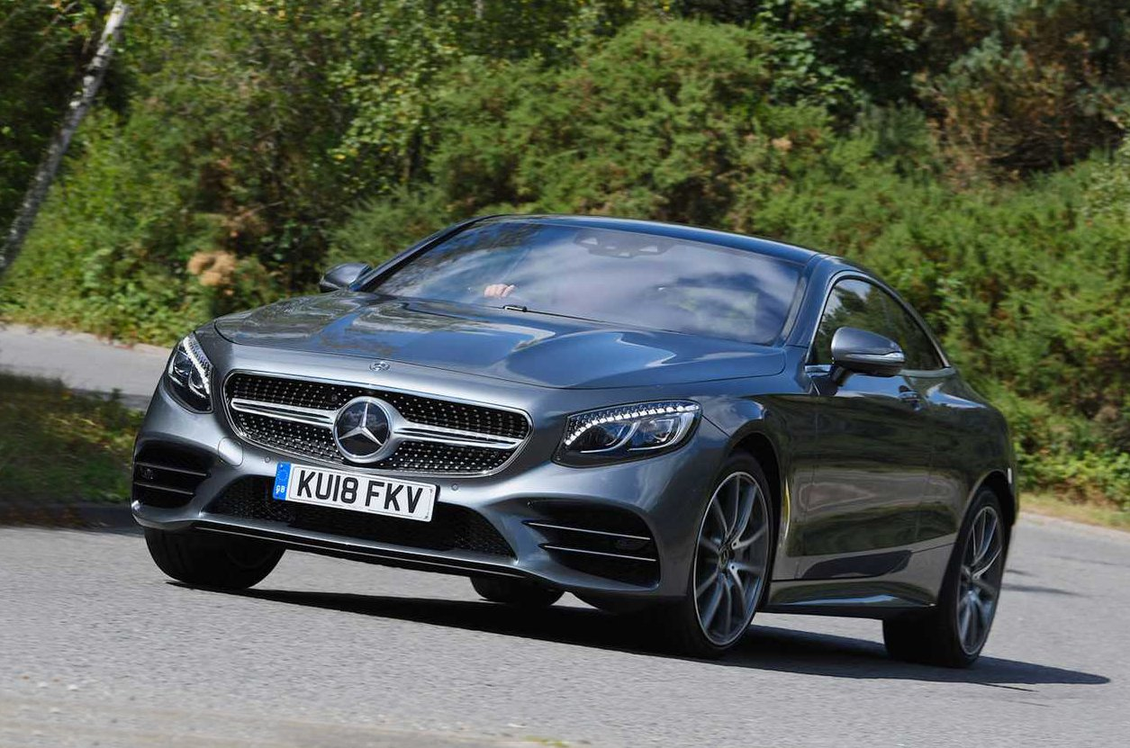 Mercedes S-Class Coupe front