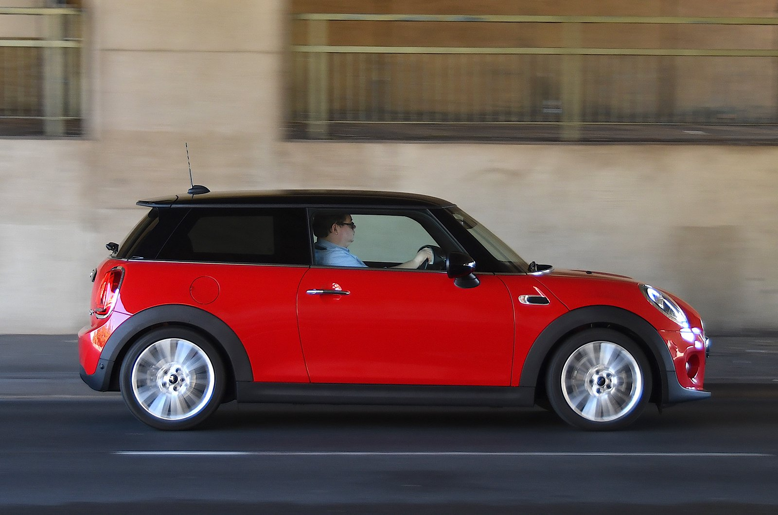 Mini hatchback long-term test car