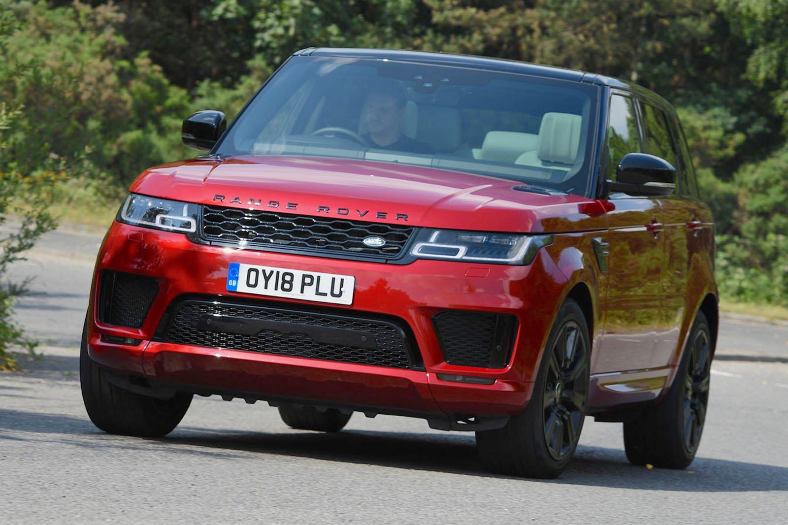 2018 Range Rover Sport cornering