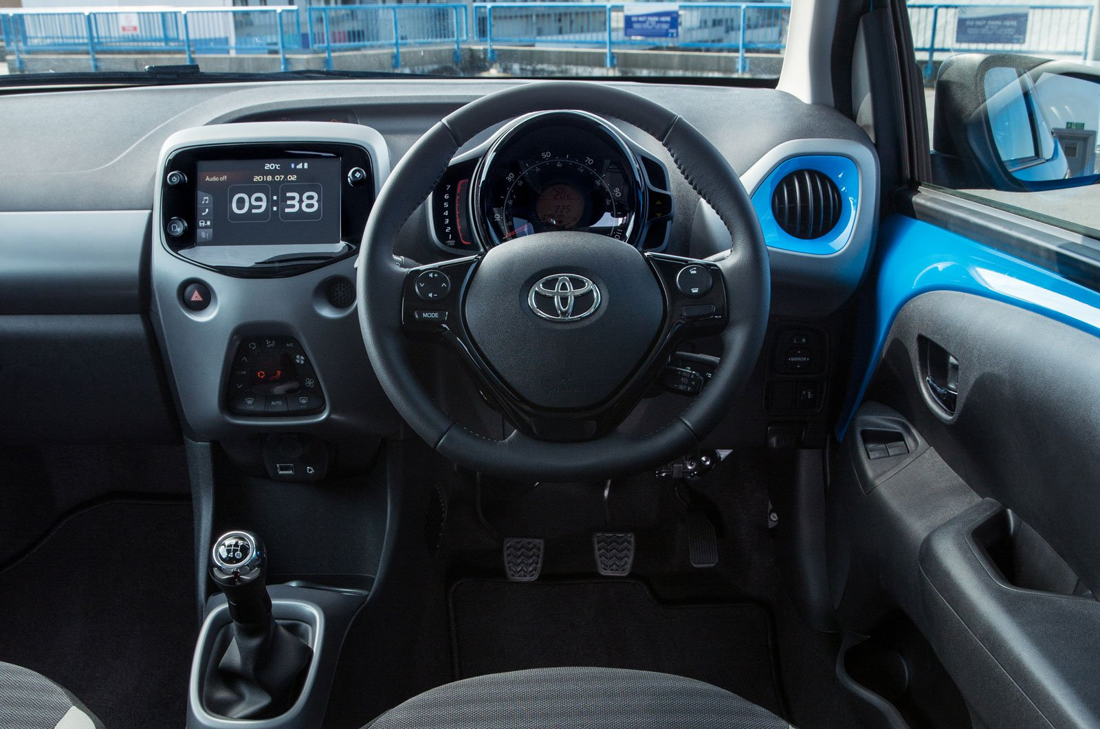 Toyota Aygo 2018 front seat