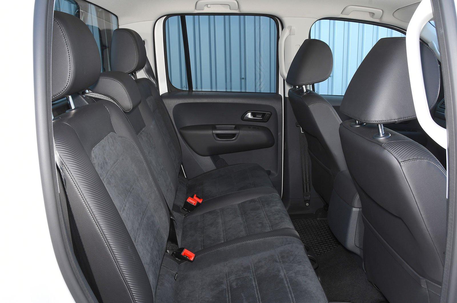 Volkswagen Amarok rear seats