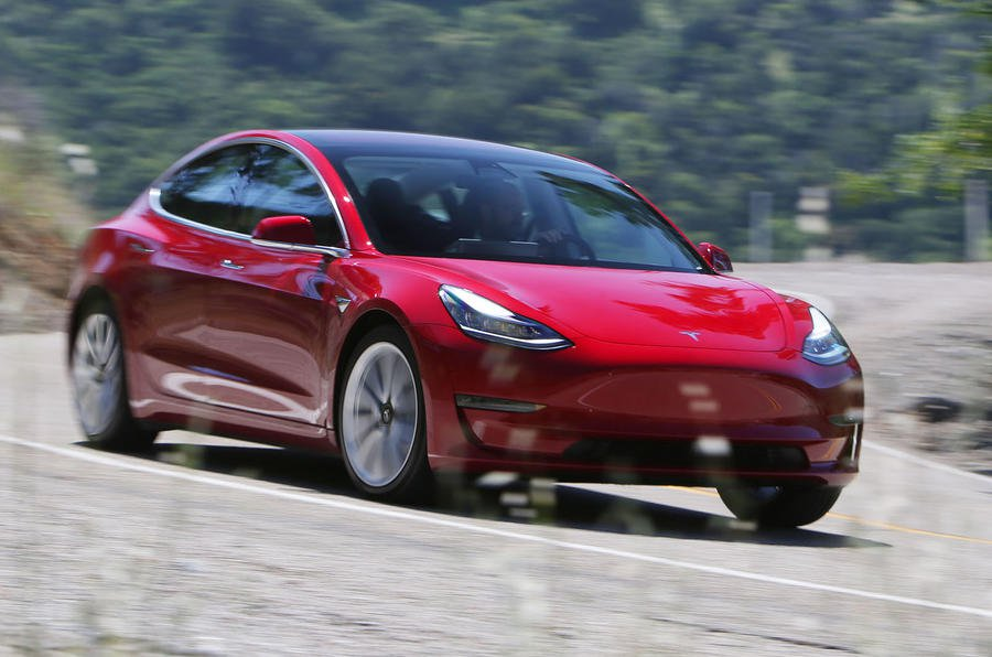 2019 tesla model 3 prices specs and release date what car. Black Bedroom Furniture Sets. Home Design Ideas