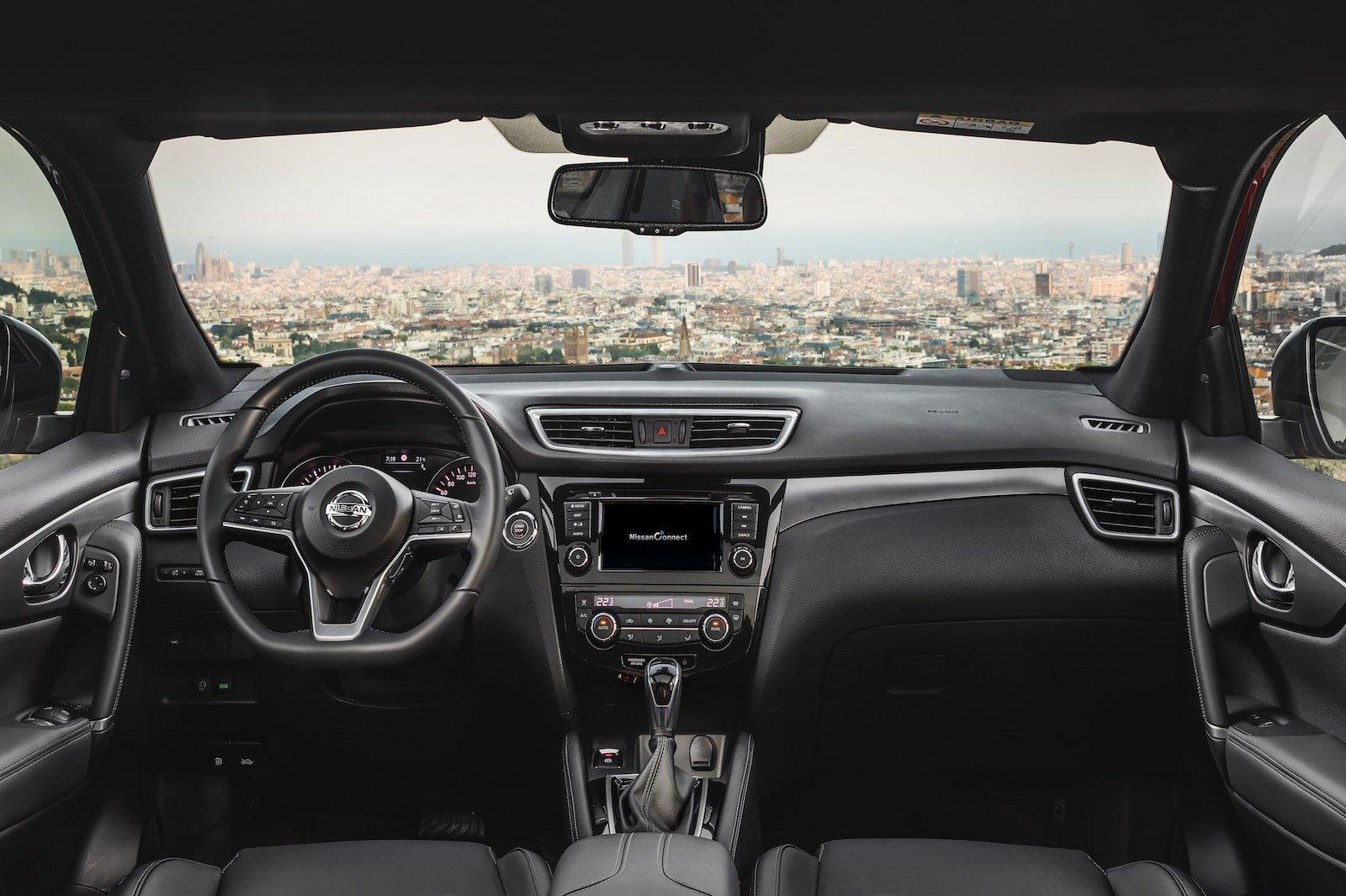 2018 Nissan Qashqai 1.3 DiG-T dashboard