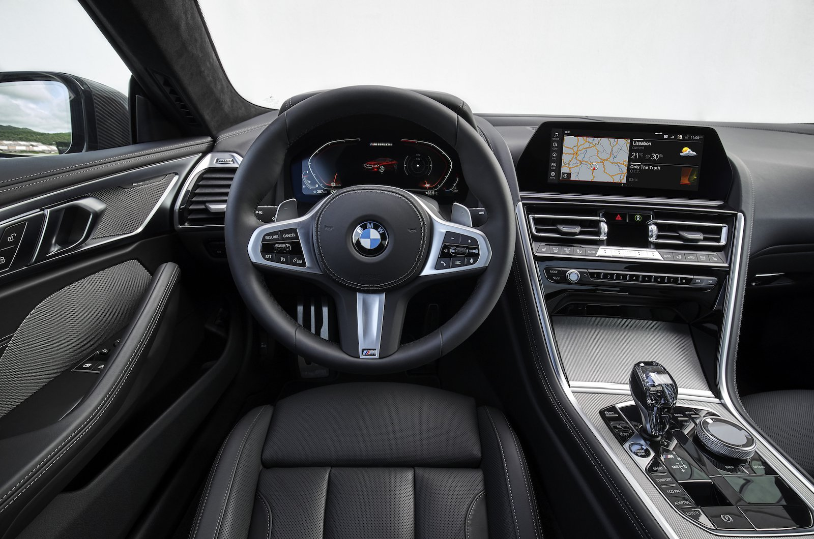 BMW 8 Series Driving Position
