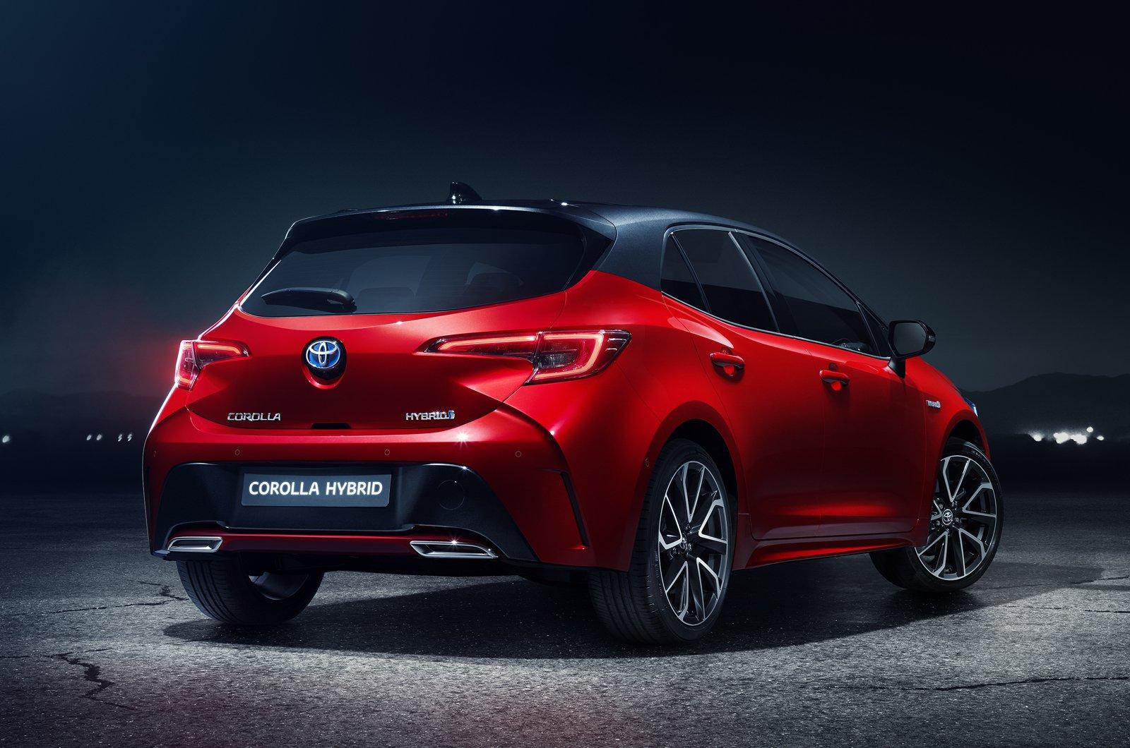 2019 Toyota Corolla rear