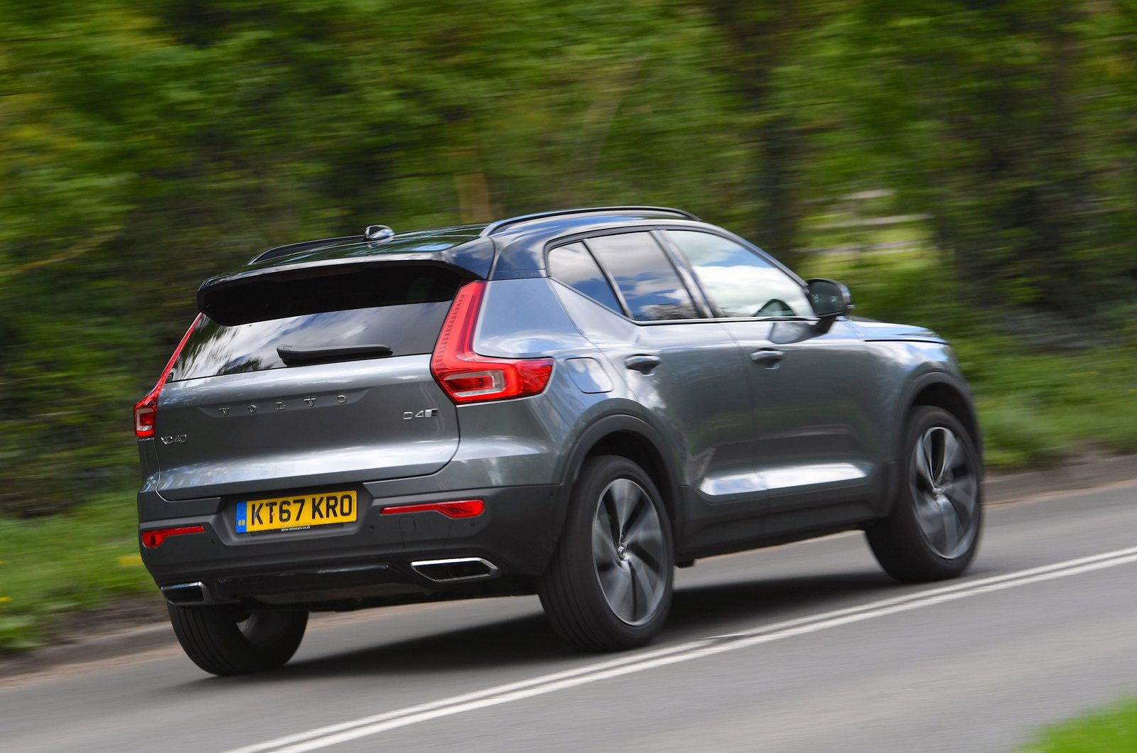 Long-term Volvo XC40 rear