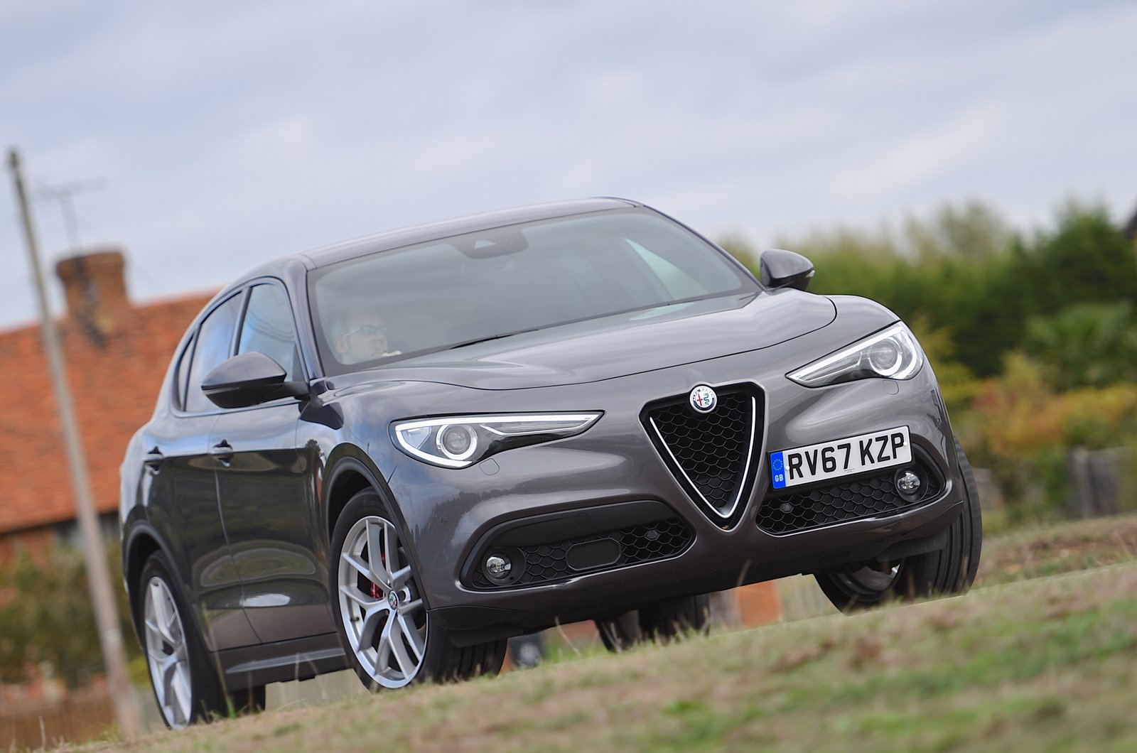 Long-term Alfa Romeo Stelvio front