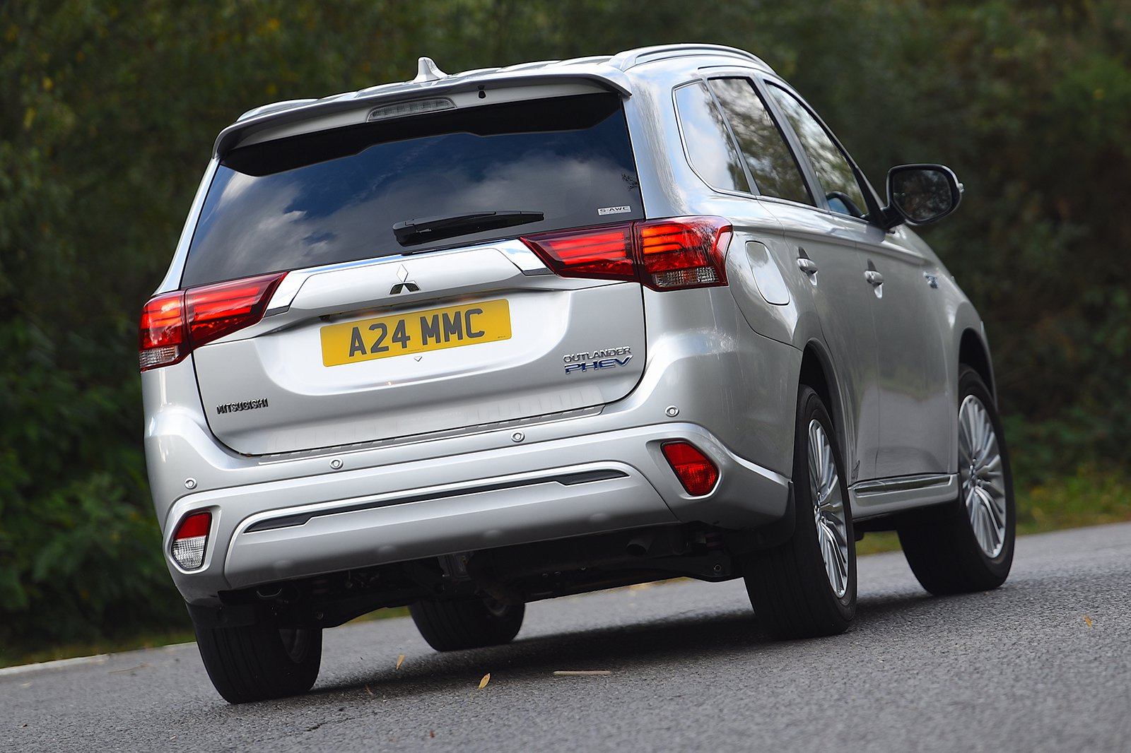 2018 Mitsubishi Outlander PHEV rear