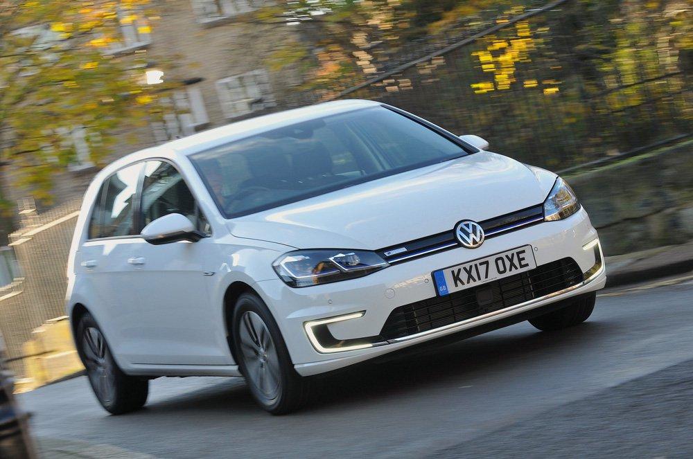 Volkswagen e-Golf front