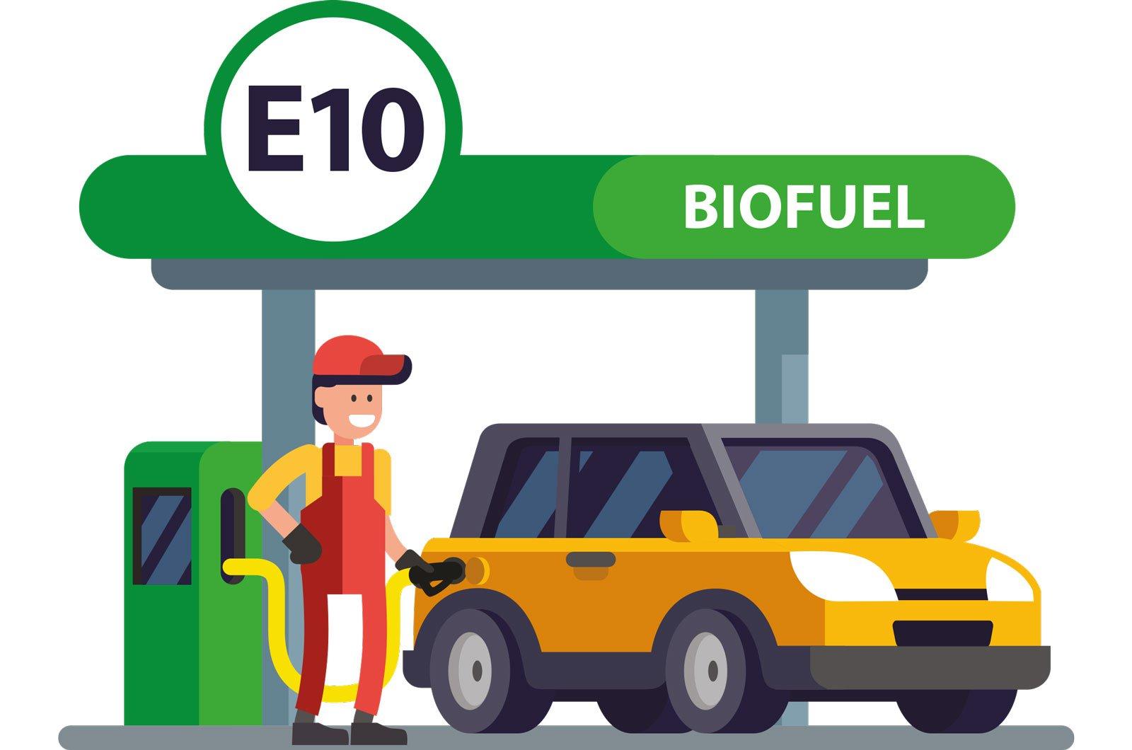 E10 biofuel main image