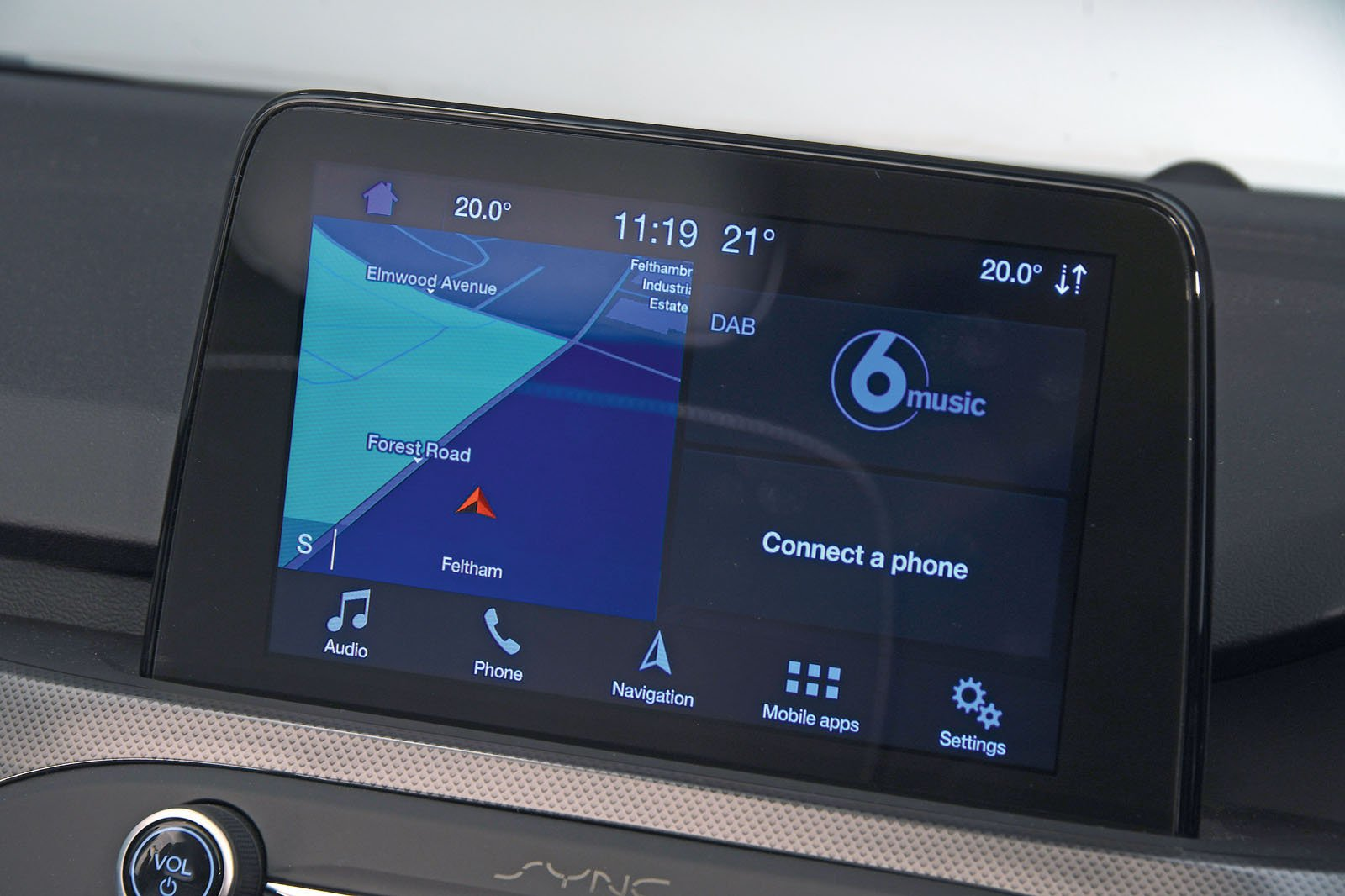 Ford Focus infotainment