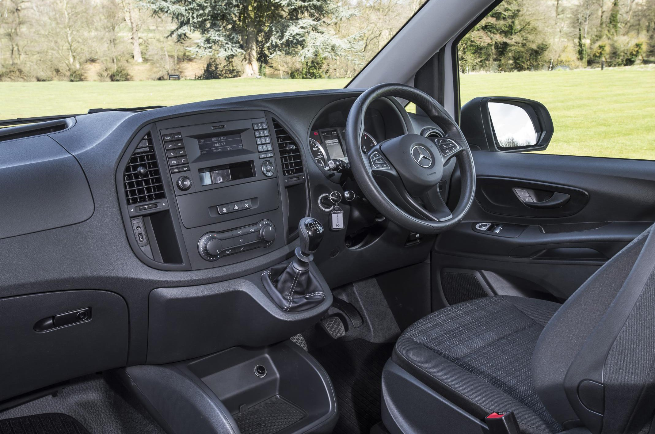 Mercedes Vito dashboard