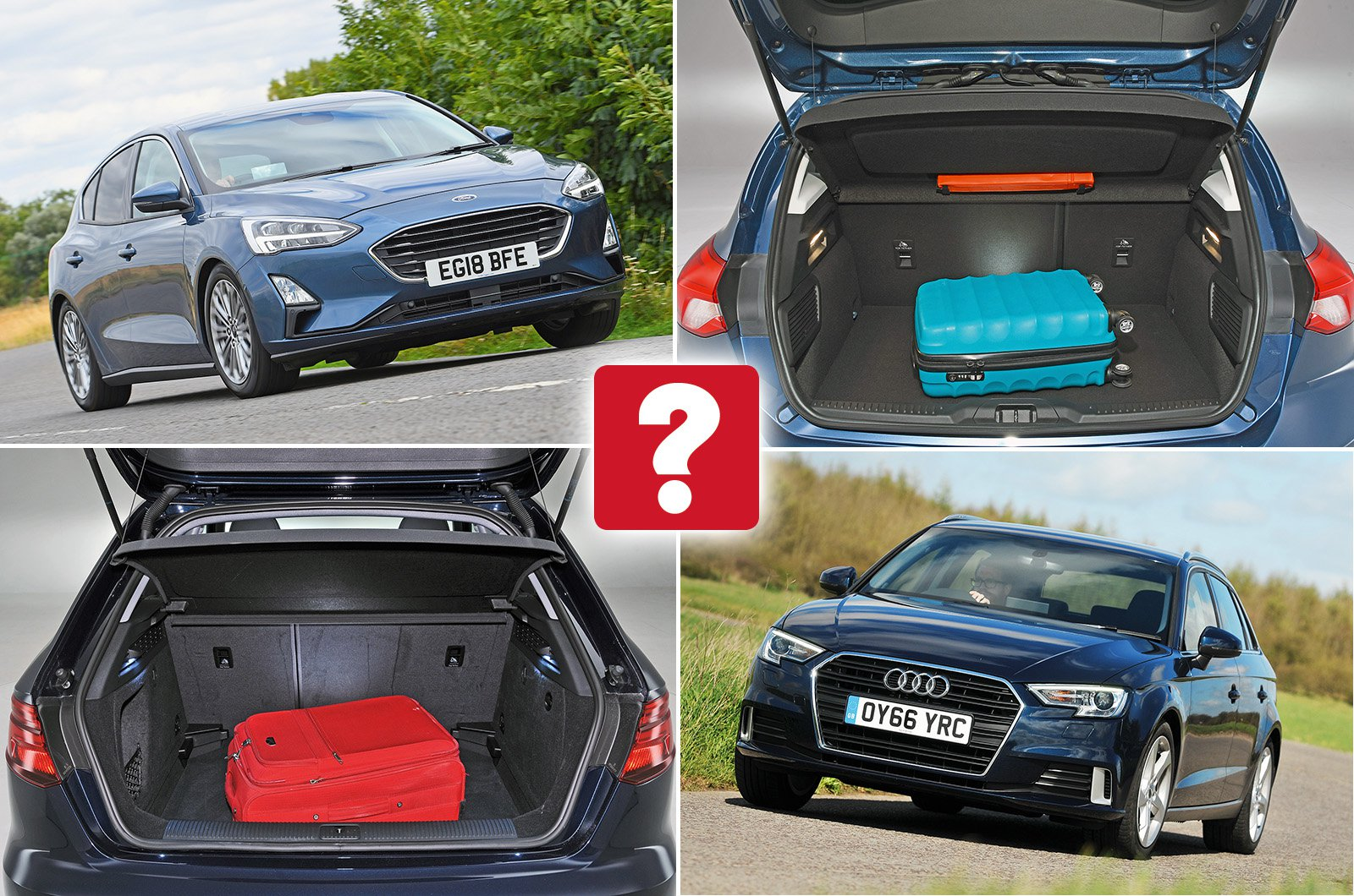 New Ford Focus vs used Audi A3