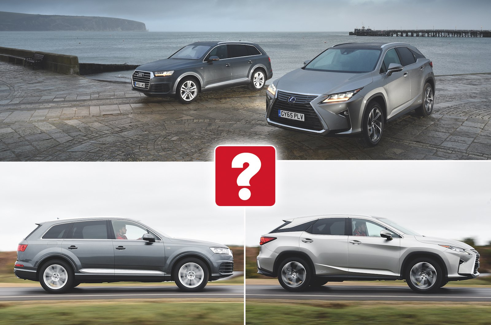 Used test: Audi Q7 vs Lexus RX | What Car?