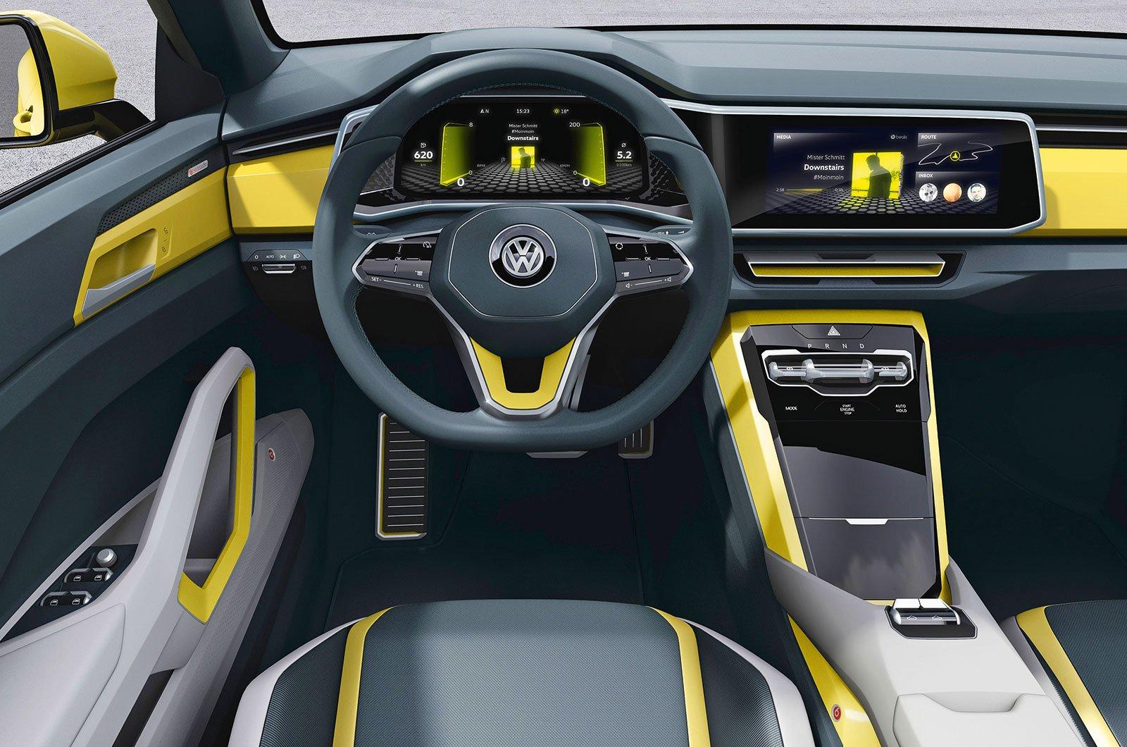 Volkswagen T-Cross prototype