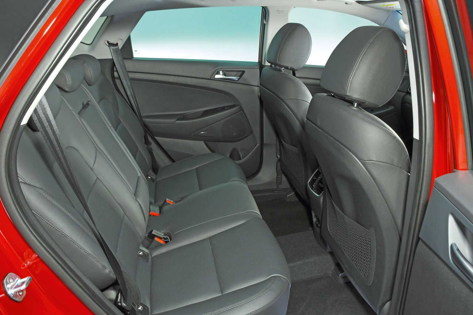 Hyundai Tucson rear seats