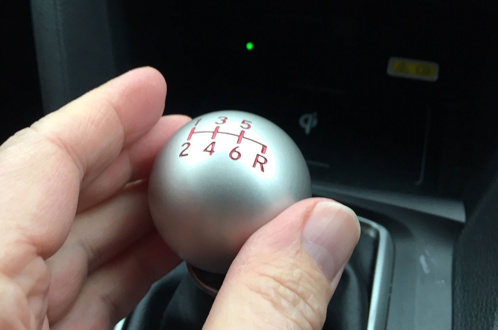 Honda Civic Type R gear stick