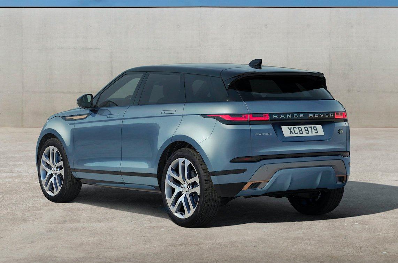 2019 Range Rover Evoque rear