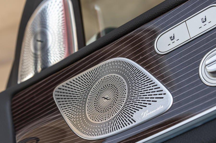 Mercedes GLE speaker