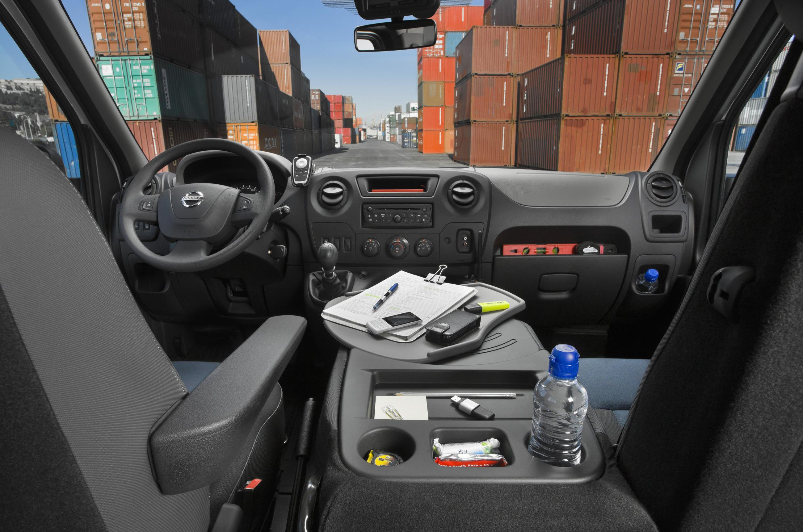 Nissan NV400 interior