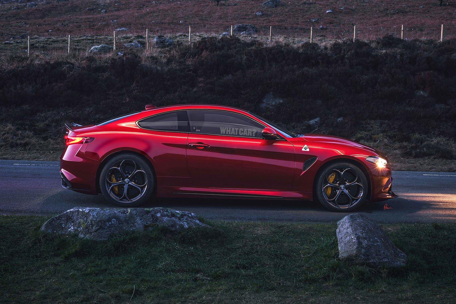Alfa Romeo GTV rendering side