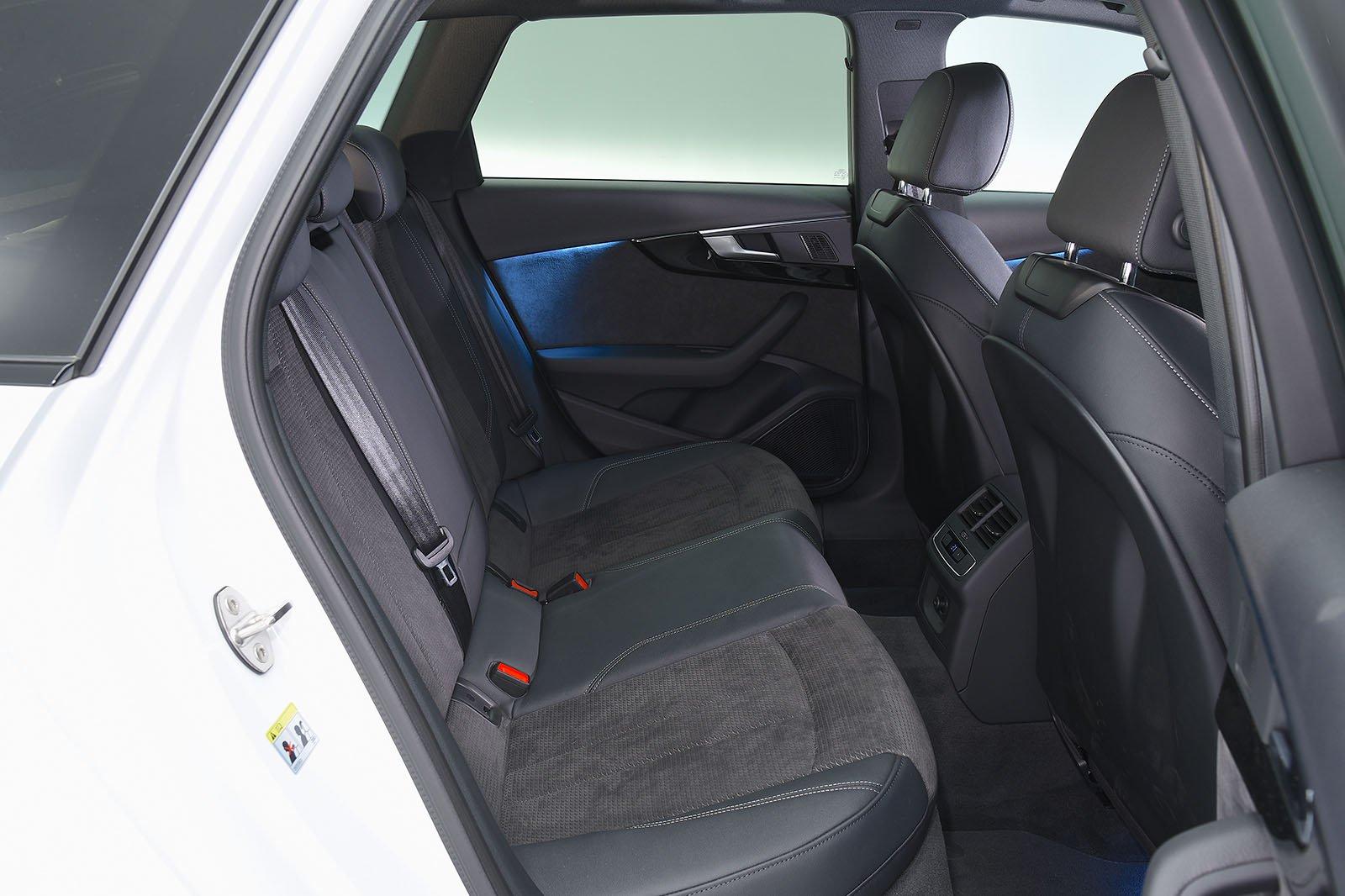 2018 Audi A4 Avant rear space