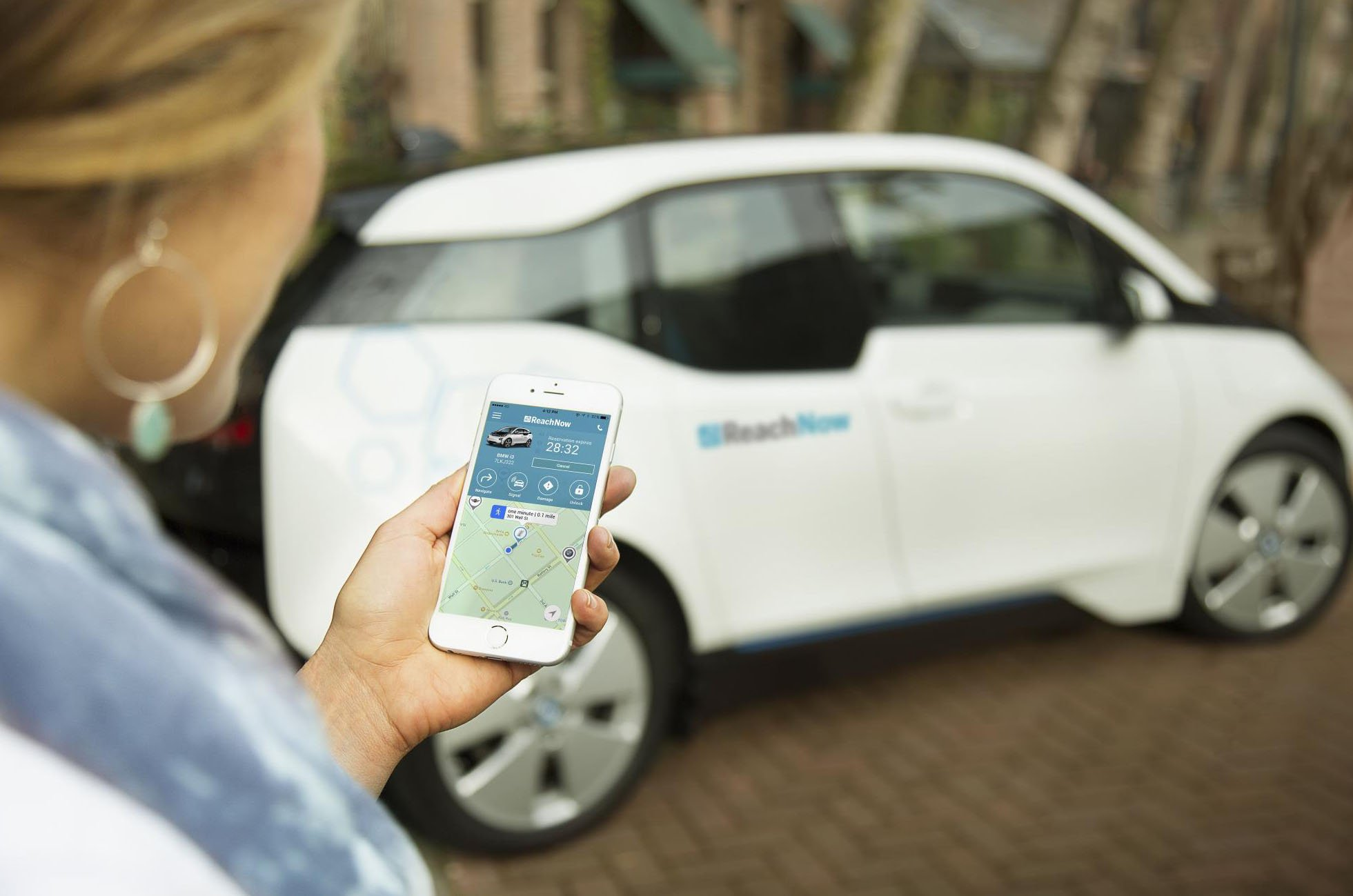 BMW i3 car subscription service