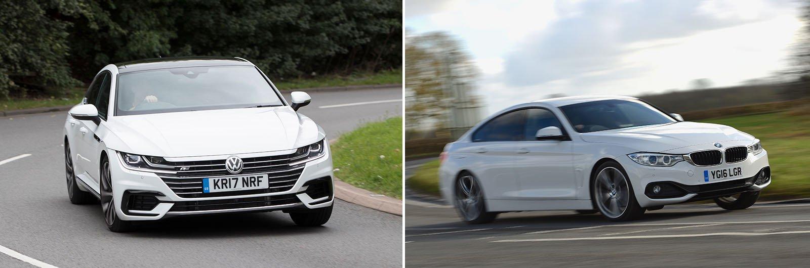 New Kia Stinger vs used BMW 5 Series – alternatives