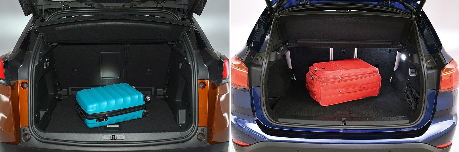New Peugeot 3008 vs used BMW X1