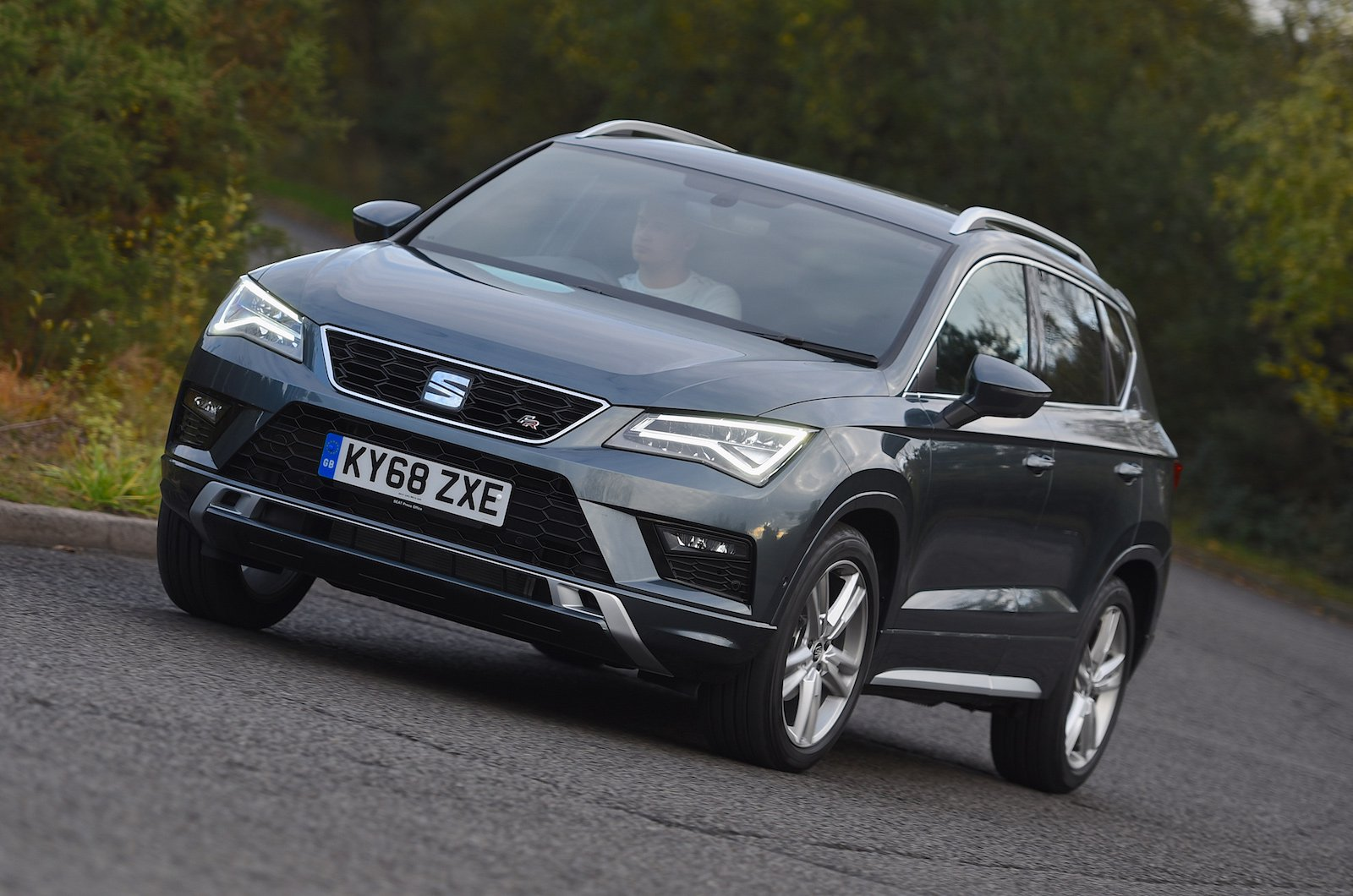 Seat Ateca FR Roundabout