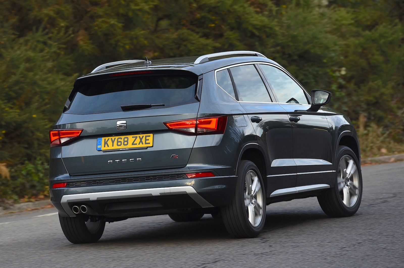 Seat Ateca Rear Cornering