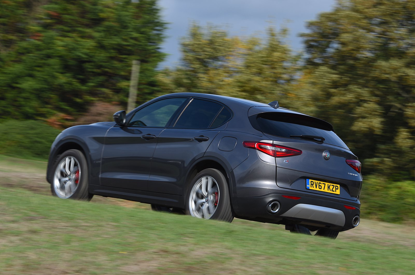 Long-term Alfa Romeo Stelvio rear